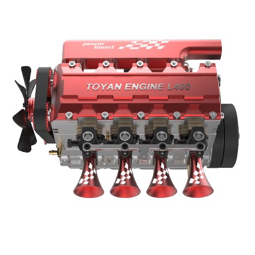Toyan Four-cylinder Four-stroke Water Cooling Nitro Model Engine FS-L400