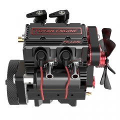 Toyan Twin-Cylinder Four-Stroke Nitro RC Engine FS-L200