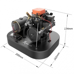 Toyan 4 Stroke RC Engine Kit Set with Start Base FS-S100AS