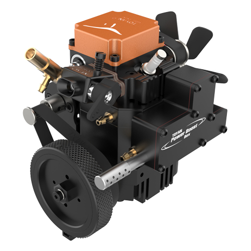 Toyan 4 Stroke Gasoline Water Cooling RC Engine FS-S100WG1